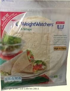 Weight Watchers Wraps - want that in Germany!!!!