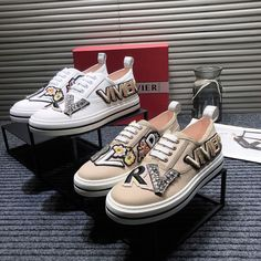 Roger Vivier Shoes, Vans Authentic, Sneakers, Tennis, Slippers, Sneaker, Shoes Sneakers, Women's Sneakers