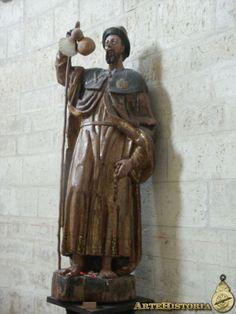 Iglesia de San Martín (Frómista, Palencia). Santiago peregrino - Obra - ARTEHISTORIA V2