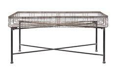 Enticing Pitzer Rectangle Wire Plant Stand