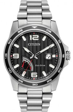 Citizen Eco Drive. Simple Solar Watch Yet Very Stylish!! And Never Needs a Battery!!