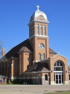 St. Boniface Catholic Church in Stuart, Nebraska.  Where my parents and I were married-all my children as well as Jim and I were baptized-made our 1st Communions. Our daughter was married here as well. A perfectly beautiful special place!