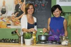 Paleo life with two beautiful women