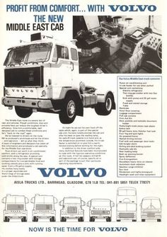 VOLVO reclame Volvo Cars, Volvo Trucks, Old Lorries, Road Transport, Heavy Truck, Vintage Trucks, Classic Trucks, Semi Trucks, Glasgow