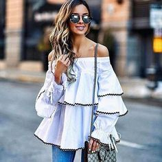 Statement Sleeve Spring Fashion for Women 2017