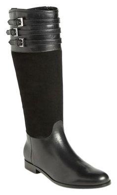 bcbe6945e23e Aquatalia Black New Deliver Riding Boots/Booties Size US 7 Regular (M, B