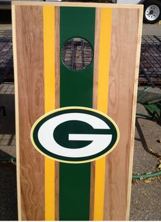 This item is unavailable Cornhole Designs, Cornhole Set, Cornhole Boards, Packers Funny, Packers Memes, Backyard Games, Outdoor Games, Outdoor Fun, Outdoor Ideas