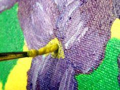 Canvas painting ideas/tutorial