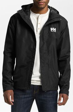 Men's Helly Hansen 'Seven J' Waterproof & Windproof Jacket
