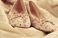 Zapatos Bajos Flores