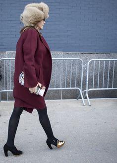 #NYFW Street Style Day 7 / Credit: Raydene Salinas