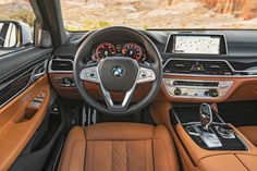 This 2016 BMW 750i xDrive cockpit is sure to take your breath away!
