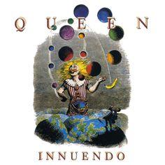 Queen - The Show Must Go On [Brian May/Freddie Mercury/Roger Taylor/John Deacon] John Deacon, Queen Album Covers, Music Album Covers, Freddie Mercury, Discografia Queen, Queen Band, Lps, Albums Queen, Hard Rock