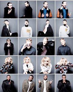 I live that Scott 'stole' the glasses haha | PTX photo shoot <<< They are wayyy too photogenic, I can't handle it.