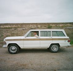 ?    Mariah Gardner, education coordinator, SF Maritime National Park Association with her 1973 Jeep Wagoneer  David Franklin    Dream car.  I so wish my dad hadn't gotten rid of his maroon one that he had when I was a kid, even if he did put grateful dead stickers all over the back.