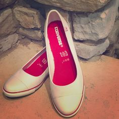 dfd50f0c244b68 Shop Women s Converse White Red size 9 Wedges at a discounted price at  Poshmark.