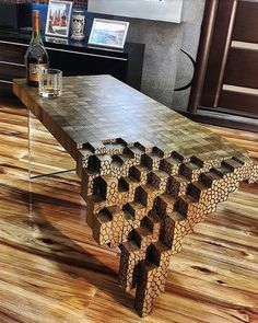 """7,996 Likes, 48 Comments - Product (@p.roduct) on Instagram: """"Falling Brick Coffee Table by Kyle Toth. #p_roduct"""""""