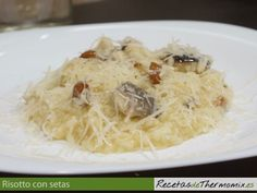 Risotto con setas, Thermomix