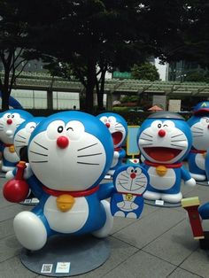 Doraemon Festival in Roppongi, Tokyo