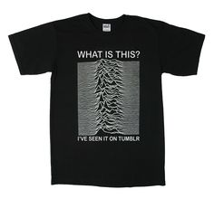 Joy Division para Millennials, la camiseta.