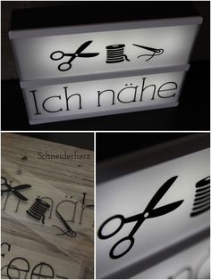 Little Lovely LIghtbox A5 Nähen Plotter Freebie