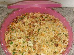 Imagem da receita Arroz farofa divino para churrasco