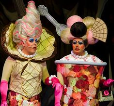 bing imagesof theater shoes | Beatrice and Eugenie the Ugly Sisters? Oh no, they're not... Row as ...