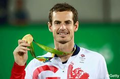 Andy Murray for Gold Great Britain