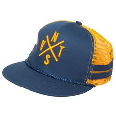 Navitas Trucker Hat NVTS Blue Yellow