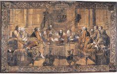Wouters, pinacoteca diBari, xilografia su tela dipinta con succhi d'erba