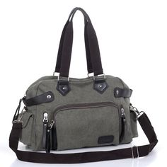 185a32610758 Canvas shoulder bag diagonal Men s bags leisure travel bag tide man bag  Korean men backpack Purses