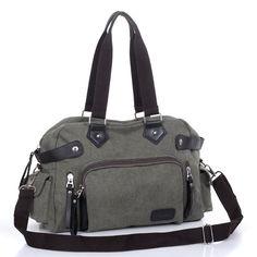 Canvas shoulder bag diagonal Men's bags leisure travel bag tide man bag Korean men backpack