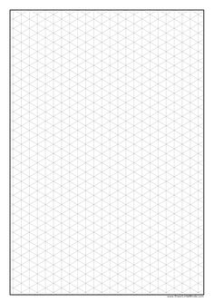 "isometric graph paper for ""3d"" drawings More"