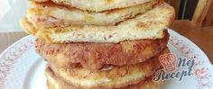 Nejzdravější sušenky, připravené ze 2 surovin | NejRecept.cz Kefir, Snacks Für Party, Bread Rolls, Crepes, Finger Foods, Main Dishes, French Toast, Sandwiches, Brunch