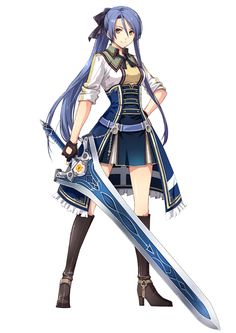 Laura S. Arseid from The Legend of Heroes: Trails of Cold Steel II
