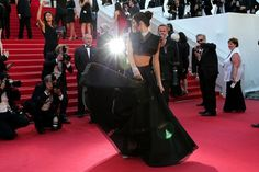 Celebrity Hollywood fashion style outfits Cannes Film Festival red carpet - Sienna Miller, Karlie Kloss, Jake Gyllenhaal