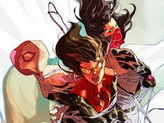 Spider-Women Omega n.1 Marvel Comics pubblica la serie delle tre donne ragno