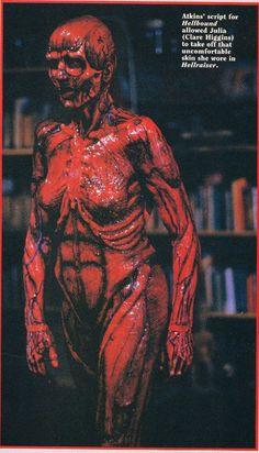 Julia skinless in Hellraiser
