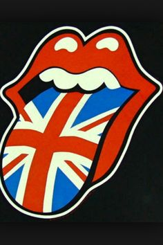 The Rolling Stones logo. The greatest RnB band of all time, and are still going strong.