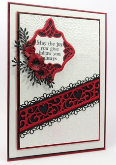 My Papercrafting Blog featuring my Cards and creations showcasing Creative Expressions products as well as Spellbinders, Ranger and many more!