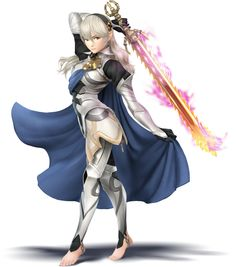 Smash bros / Fire emblem fates female Corrin
