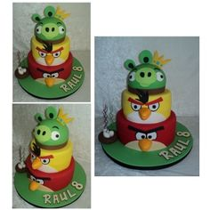 Angry Birds Cake #2 By PattyCakes10 on CakeCentral.com