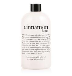 cinnamon buns | shampoo, shower gel & bubble bath | philosophy bath & shower gels Probably Philosophy's BEST!!!