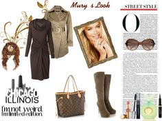 """""""@Elena Murillo - wow brown!"""" by murihel85 ❤ liked on Polyvore"""