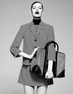 Checks accepted. Madame Figaro, France, March 2013 #AllAccessKors