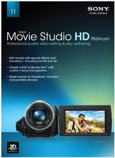 Sony Creative Software Movie Studio HD Platinum 11 [Old Version]