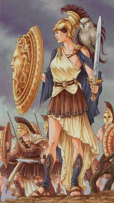 Universal Goddess Tarot - Athena