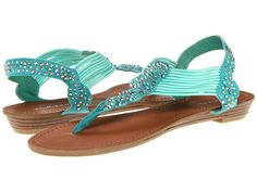 GR Sandals-TURQUOISE