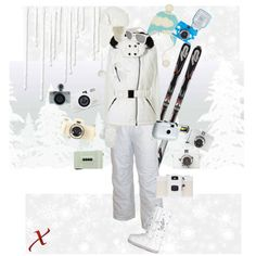 """Lomo is in the Snow"" by nikkaxxx on Polyvore"