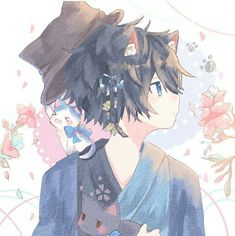 Mafumafu X Soraru - Mafumafu X Soraru Anime Neko, Manga Anime, Anime Art, Anime Boys, Cute Anime Boy, Neko Boy, Anime Style, Anime Cosplay, Anime Boy Zeichnung